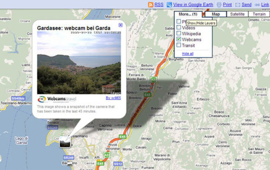 Webcam su Google Maps