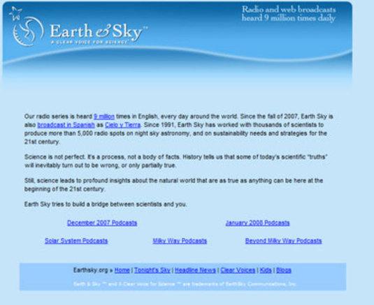 earth&sky