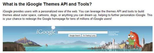 Personalizzare iGoogle