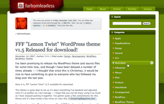 Tema per wordpress gratuito
