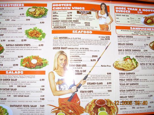 strategie per la creazione di menu