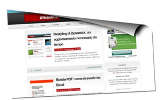 Dynamick, il portale sul web