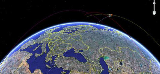 Satelliti sulla terra