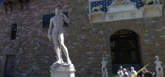 il David di Michelangelo