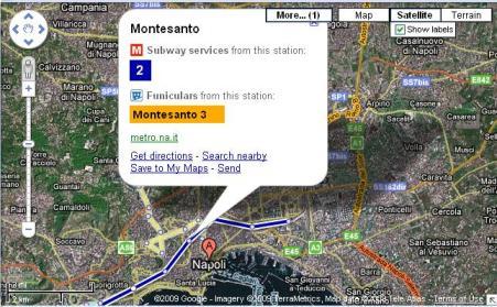 google transit napoli