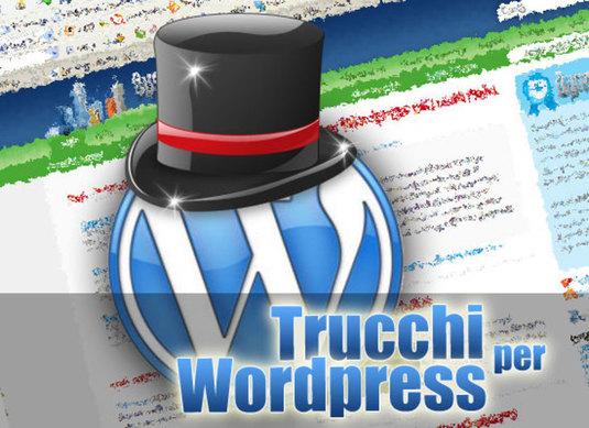 trucchi per wordpress